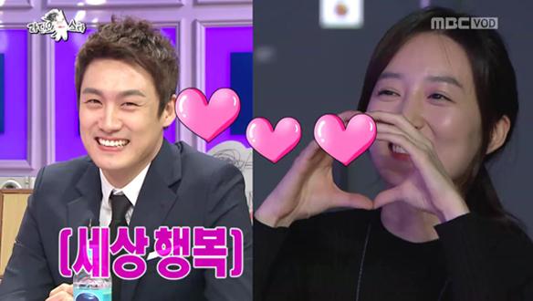 """깜짝 방문한 오상진의 예비신부 김소영 아나운서! """"정말 너무 예쁘지 않나요?"""" [521회]"""