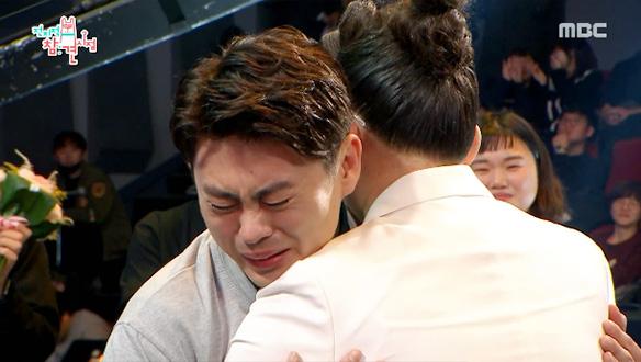 대상 영광의 순간, 송실장님과 이영자의 뜨거운 포옹 (축하해요♡) [36회]