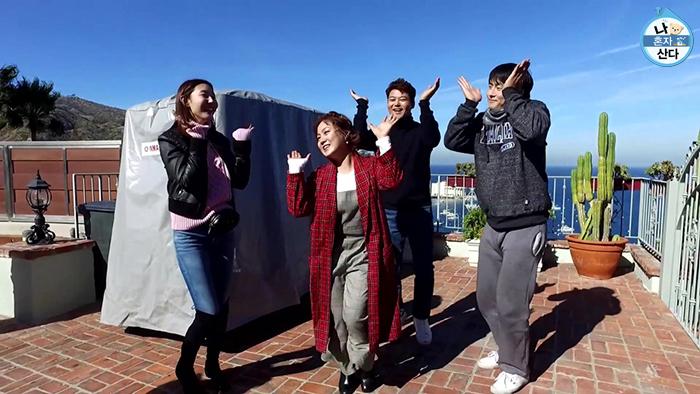 무지개 회원 :: 한혜진, 박나래, 전현무, 기안84, 이시언